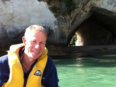 Coromandel Day Trips - Jerry Bridge at Cathedral cove
