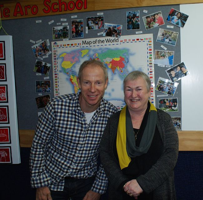 Te Aro School Sue Clements