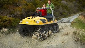 Coromandel day tours - Argo amphibious vehicles