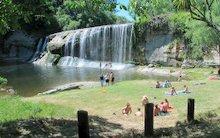 Eastland Region of New Zealand - Rere Rock Slide and Rere Falls