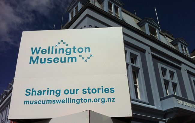 Wellington Museum that was Wellington City and Sea Museum